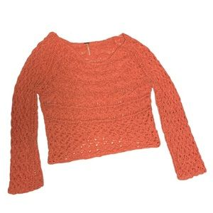 Free People Pink Sweater - Women's Size Large